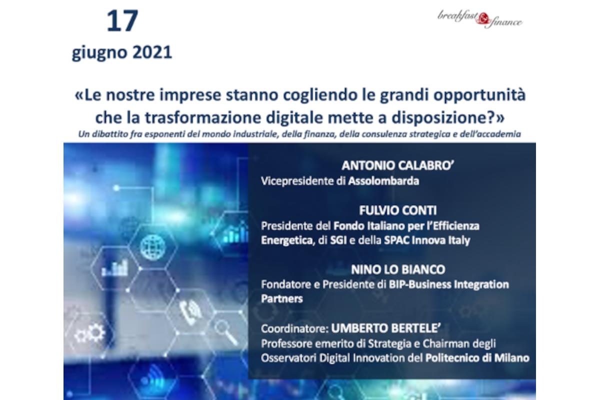 Breakfast&Finance in joint con Canova Digitale