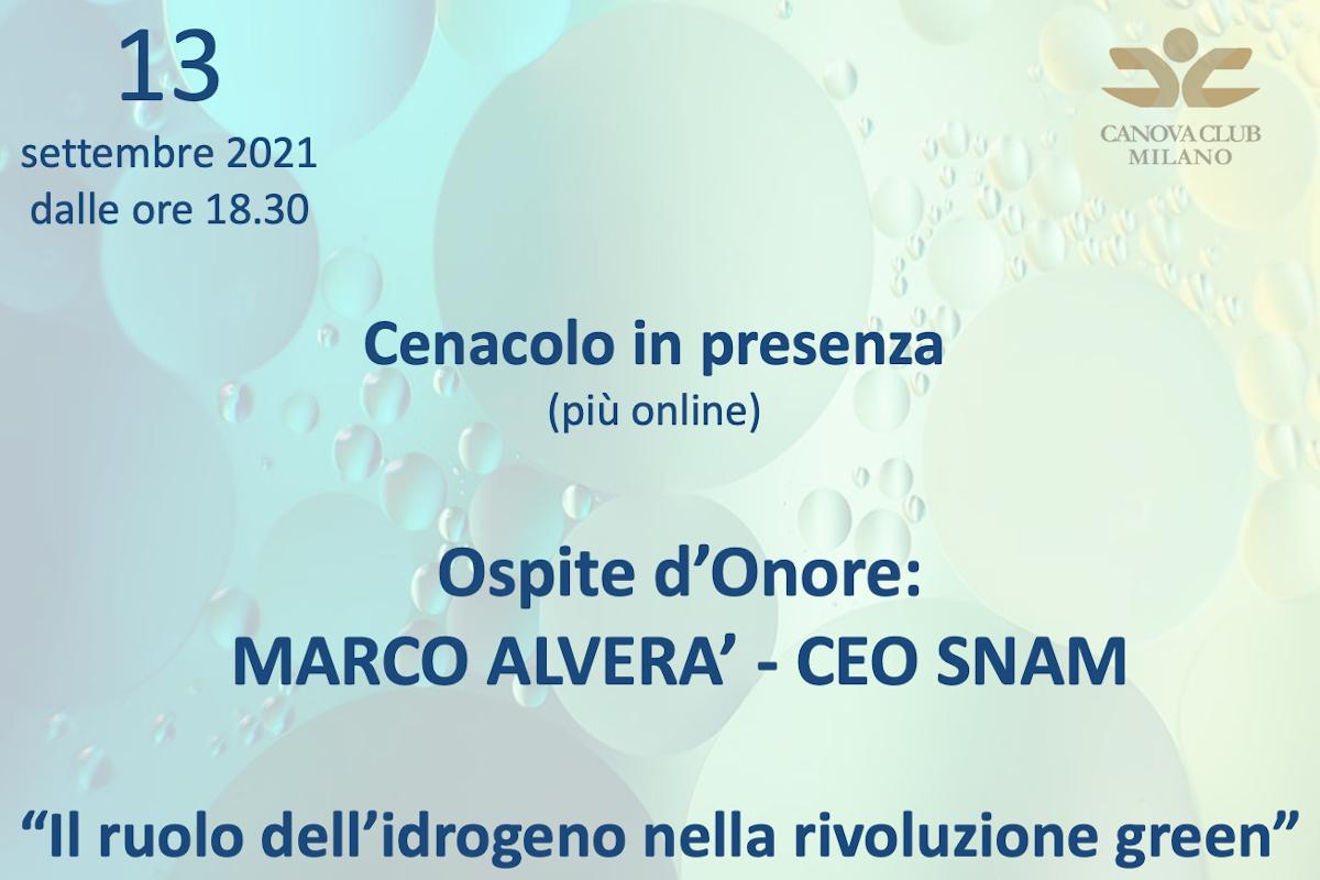Cenacolo (in presenza) Canova Club Milano